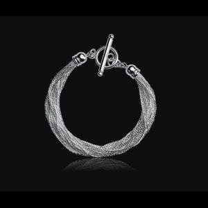 Brand New Sterling Silver Nikola Vanlenti Bracelet